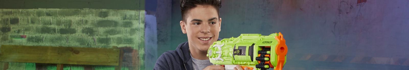 Geweren en laserpistolen