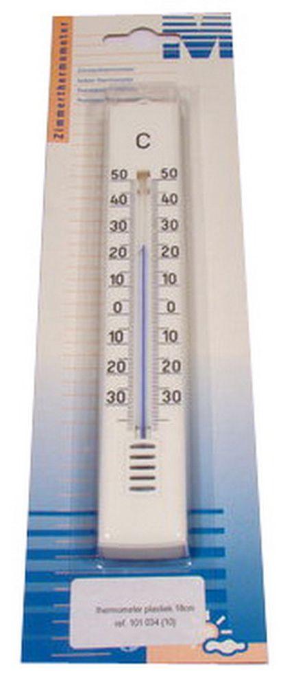 Plastiek Thermometer 18 Cm 101034