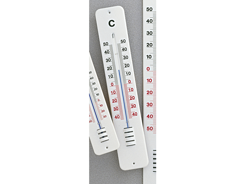 Outdoor Thermometer Metaal Wit