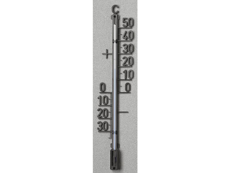 Outdoor Thermometer Metaal Zwart