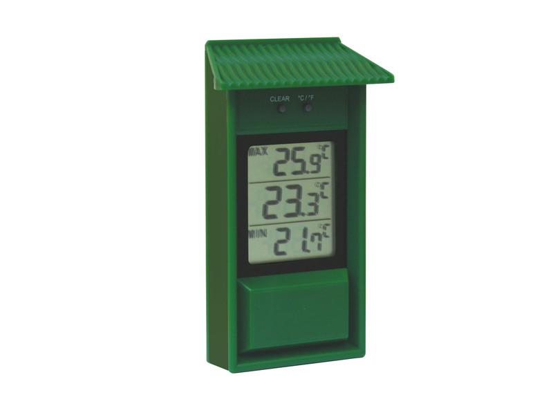Digitale Max Min Thermometer Groen