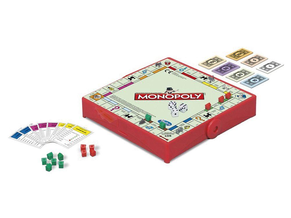 Afbeelding van Spel Monopoly Reisspel