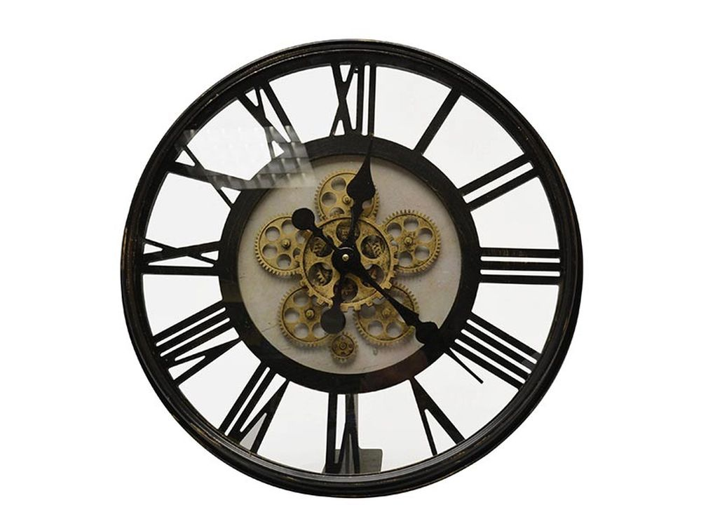 Hamilton Open Clock Inventions