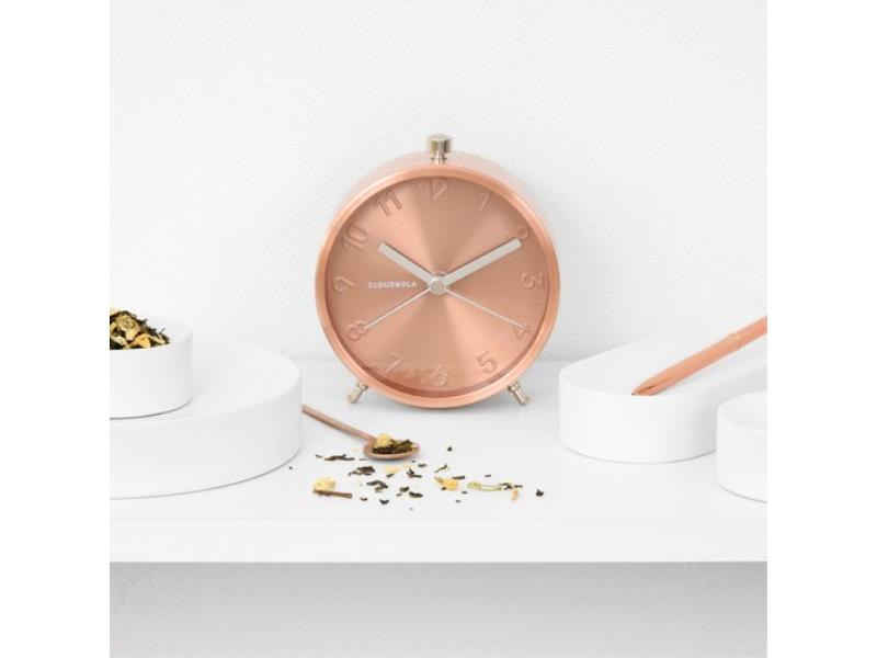 Cloudnola Alarm Clock - � 12 Cm -- Glam - 'Copper'