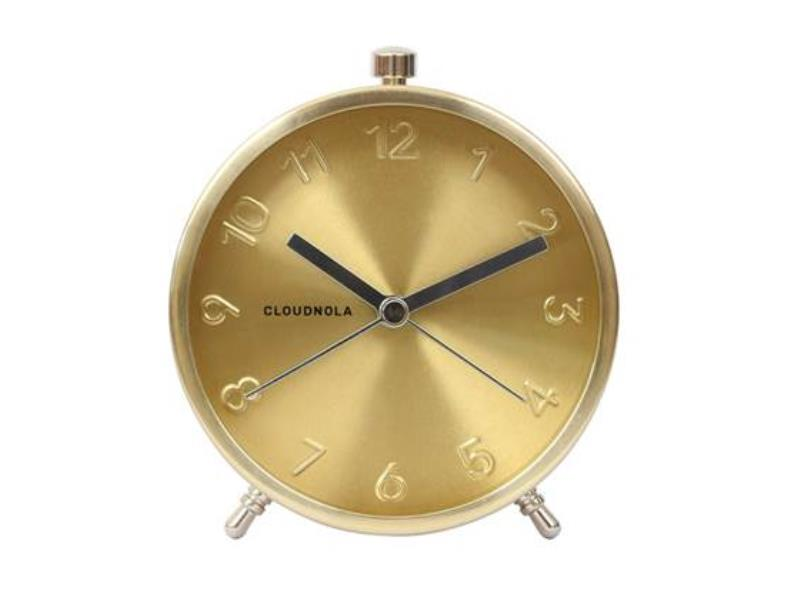 Cloudnola Alarm Clock - Ø 12 Cm -- Glam - 'Gold'