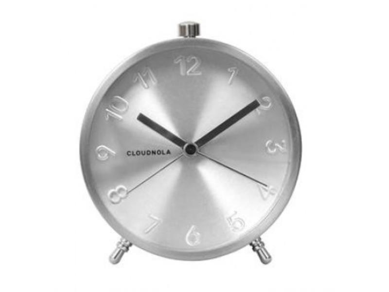 Cloudnola Alarm Clock - � 12 Cm -- Glam - 'Silver'