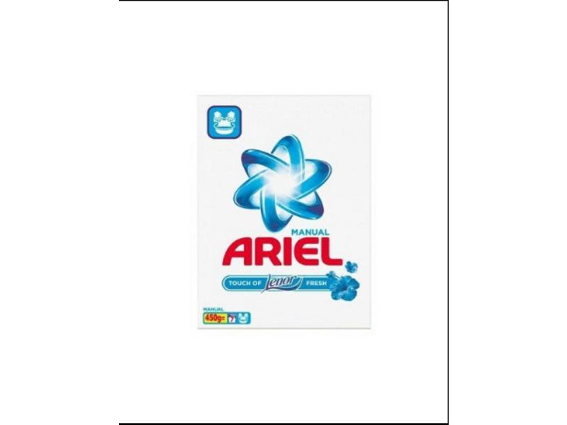 Ariel Waspoeder Handwas Touch Of Lenor 450G/7Sc