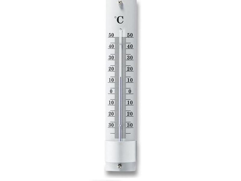 Buitenthermometer Aluminium