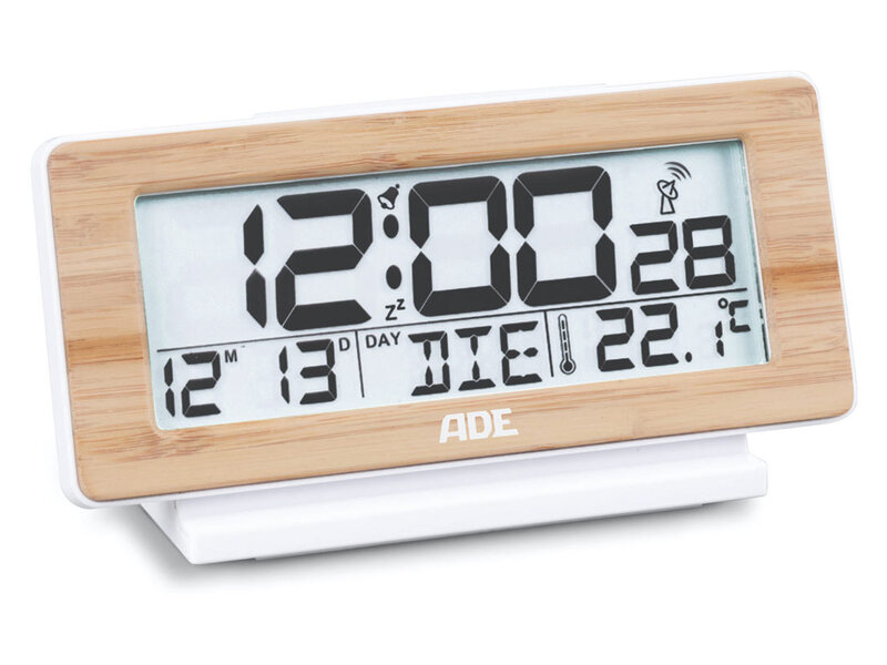 Ade Digitale Alarmklok Met Temperatuur