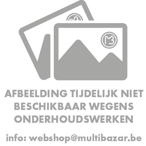 Spiegel Hout/Zinken Rand Met Plank Dia51X11Cm