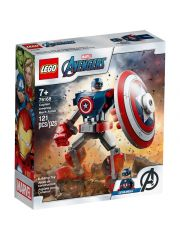 Super Heroes 76168 Captain America Mechapantser