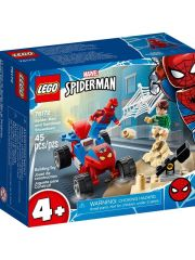Super Heroes 76172 Spider-Man en Sandman Duel