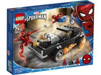 Super Heroes 76173 Spider-Man en Ghostrider versus Carnage