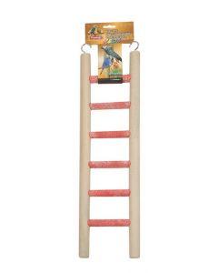 Houten ladder dik 'colori'm