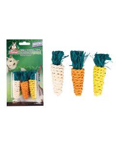 Knaagdierspeelgoed 3 wortels