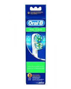 Braun Oral B Refill Eb417-2 Dual Clean