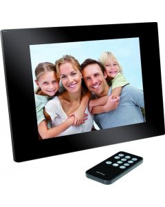 Icidu Digital Photo Frame 8 Led Black