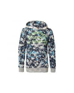 Petrol Z19 Sweater Hooded