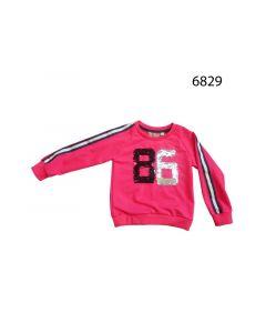 Knot So Bad Z19 Meisje Sweatshirt  128