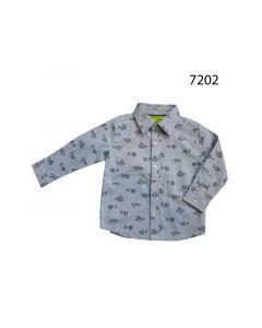 Knot So Bad Z19 Baby Jongen Hemd Ls Blue White
