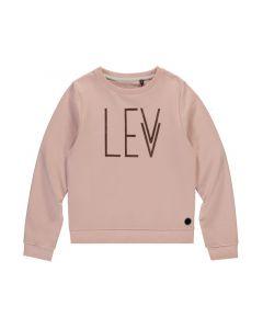 Levv Z19 Pull Met Logo Lange Mouwen Old Pink