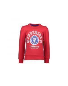 Tygo & Vito Z19 Boys Crewneck Sweater Superior Red