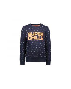 Tygo & Vito Z19 Boys Crewneck Sweater Aop Minimal