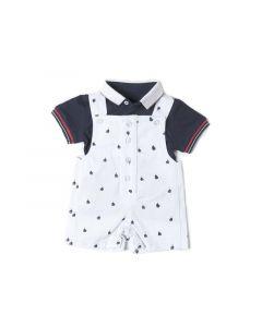 Babybol Z19 Baby Jongen Set Salopette Met Tshirt