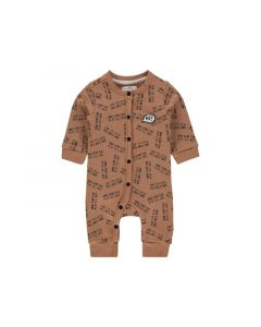 Noppies Z19 B Playsuit Ls Pontiac Aop Washed Wood 50