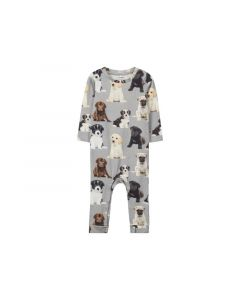 Name It New Born 1901 Nbmbemus Ls Bodysuit Grey Melange 56