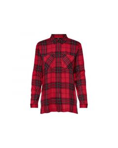 Only 1902 Onlrebella Ls Oversize Check Dnm Sh