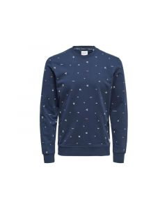 Only & Sons 1902 Onsjace Aop Cn Sweat Exp