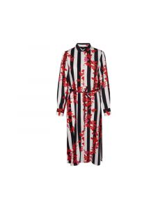 Vero Moda 1902 Vmvilja L/S Calf Shirt Dress Wvn Night Sky Vilja M