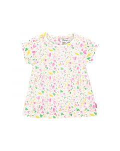 Noppies Z19 G Dress Ss Sterling Aop Sachet Pink 50