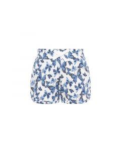 Name It Mini 1903 Nmfvigga Shorts F Bright White Butterfly