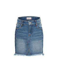 Only Kids 1903 Konsky Reg Skirt Medium Blue Denim
