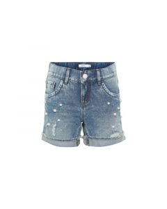 Name It Kids Noos Nkfrandi Dnmtala 1176 Shorts Light Blue Denim