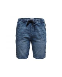 Only & Sons 1904 Onsrod Sw Shorts Blue Pk 2455 Blue Denim