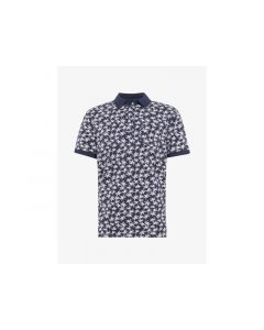 Tom Tailor Heren 1905 Allover Printed Polo
