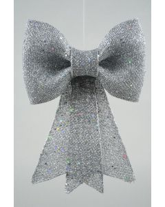 Plc Strik M Glitter M Hanger 13X14Cm Zilver