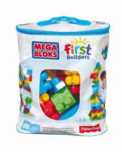 Mega Bloks First Builders Building Bag 60St Trendy