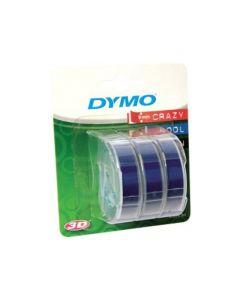 Dymo Junior Blauw 3 Rol 9Mm