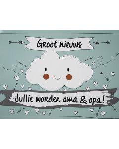 Scratchcard - Julli Worden Oma En Opa - Funny Cloud