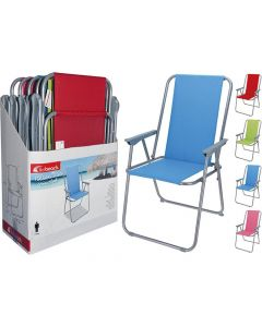 Vouwstoel Unica Polyester 4Ass. Kl.