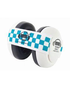 Black Em S 4 Bubs Blue/White Gehoorbeschermers