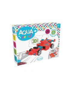 Aqua Pearl Wagen Formule 1 3D