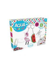 Aqua Pearl Sleutelhangers Kleine Set