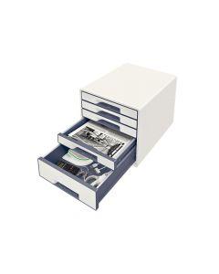 Wow Desk Cube 5 Laden Wit/Grijs
