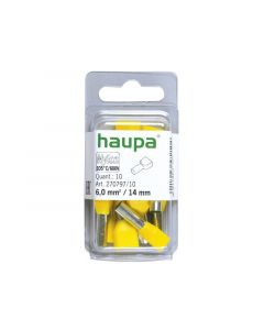 Huls 6X2,0 / 25,0Mm Geel
