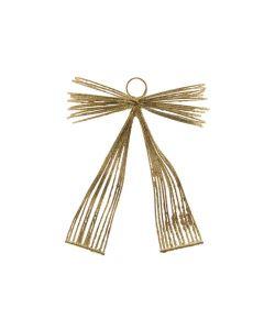 K Iron Bow Wih Hanger Gold 12X11X3.5Cm